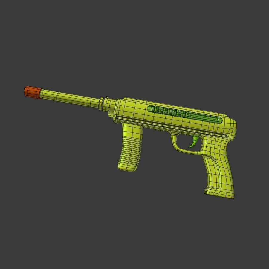 Vattenpistoler royalty-free 3d model - Preview no. 18