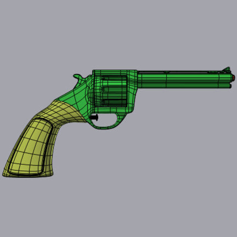 Vattenpistoler royalty-free 3d model - Preview no. 3