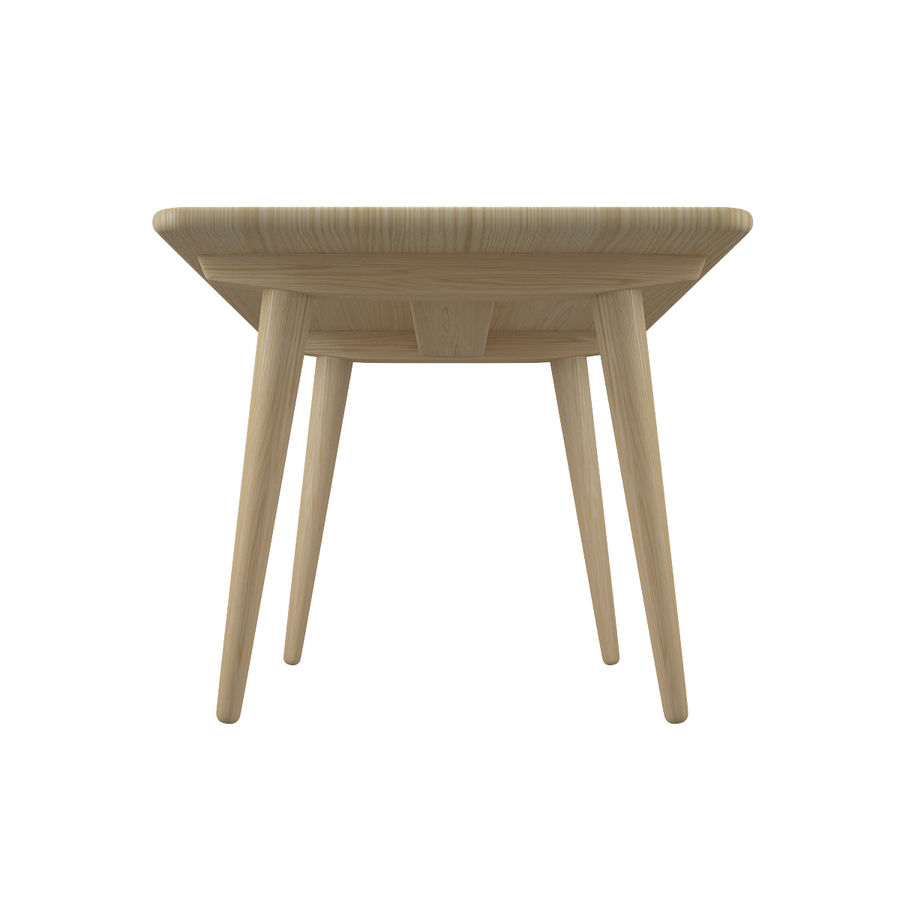 CH011 Coffee Table - Hans J. Wegner royalty-free 3d model - Preview no. 7