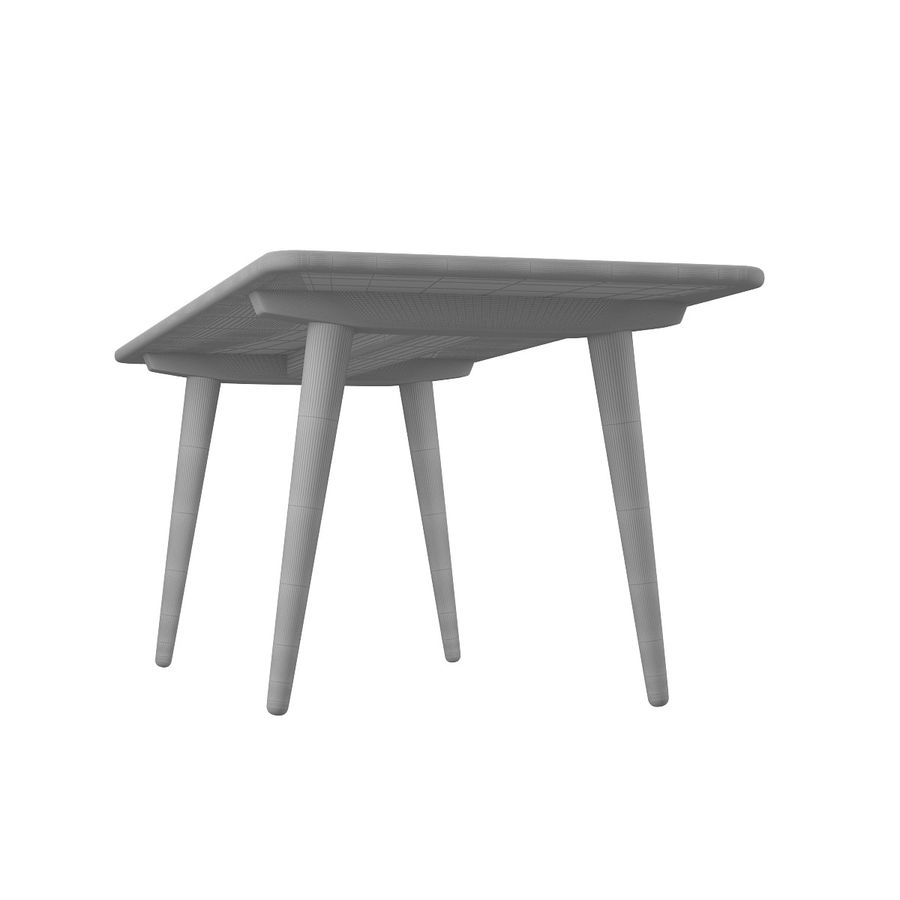 CH011 Coffee Table - Hans J. Wegner royalty-free 3d model - Preview no. 10