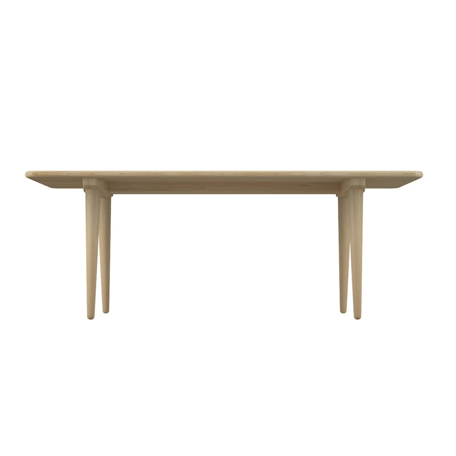CH011 Coffee Table - Hans J. Wegner royalty-free 3d model - Preview no. 6