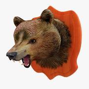 クマの頭 3d model