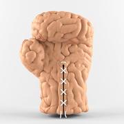 두뇌 장갑 3d model
