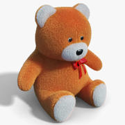 Teddy bear 01 3d model