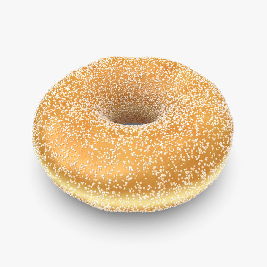 Donut Sugar royalty-free 3d model - Preview no. 1