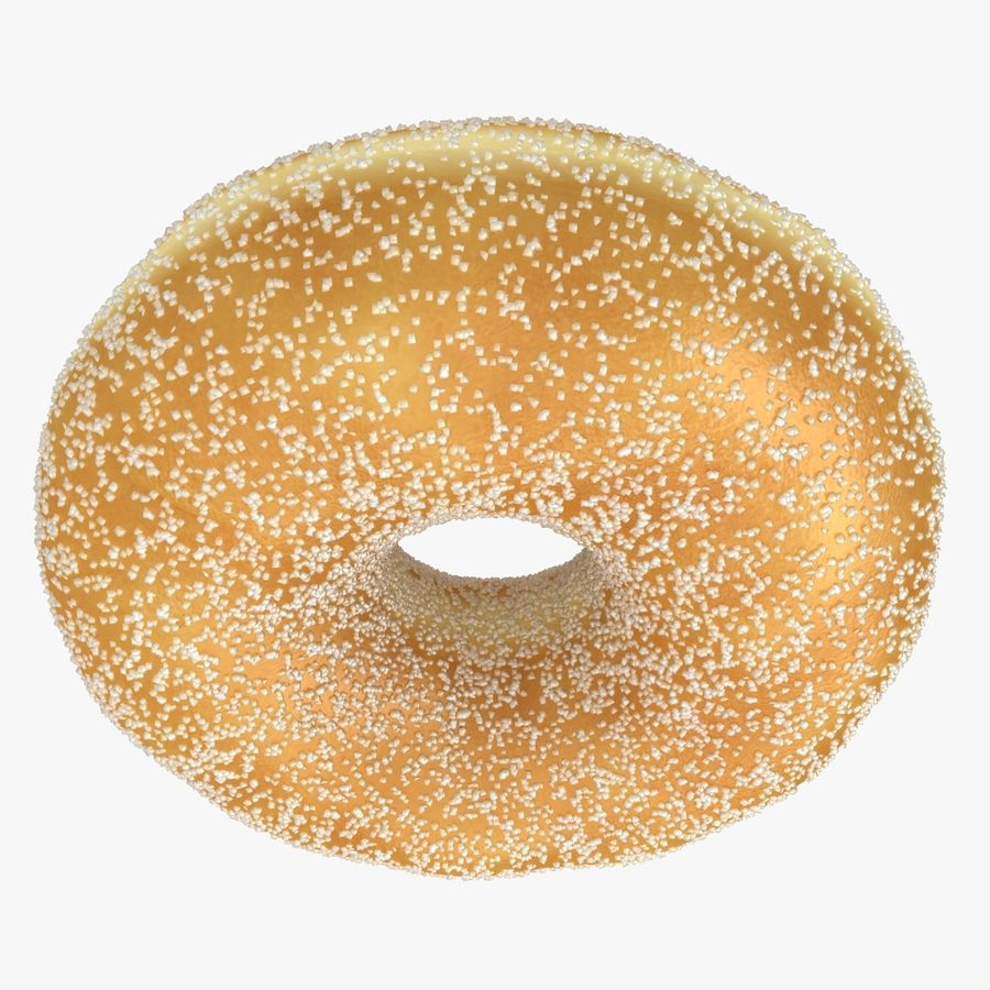 Donut Sugar royalty-free 3d model - Preview no. 9