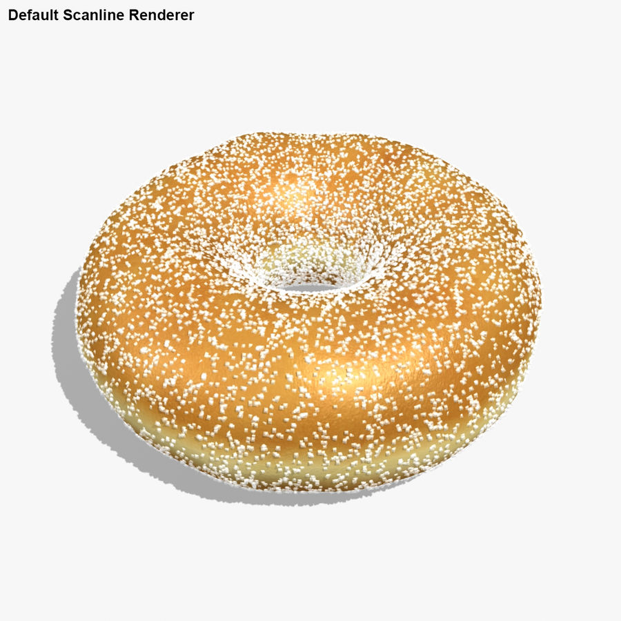Donut Sugar royalty-free 3d model - Preview no. 18
