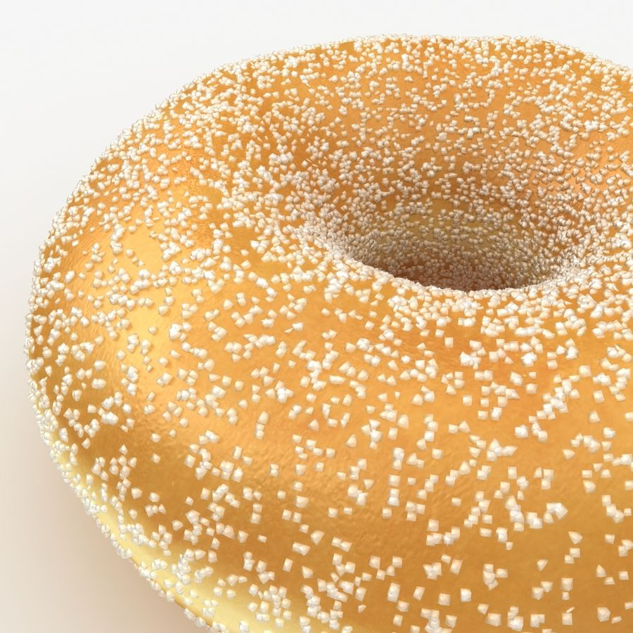 Donut Sugar royalty-free 3d model - Preview no. 5