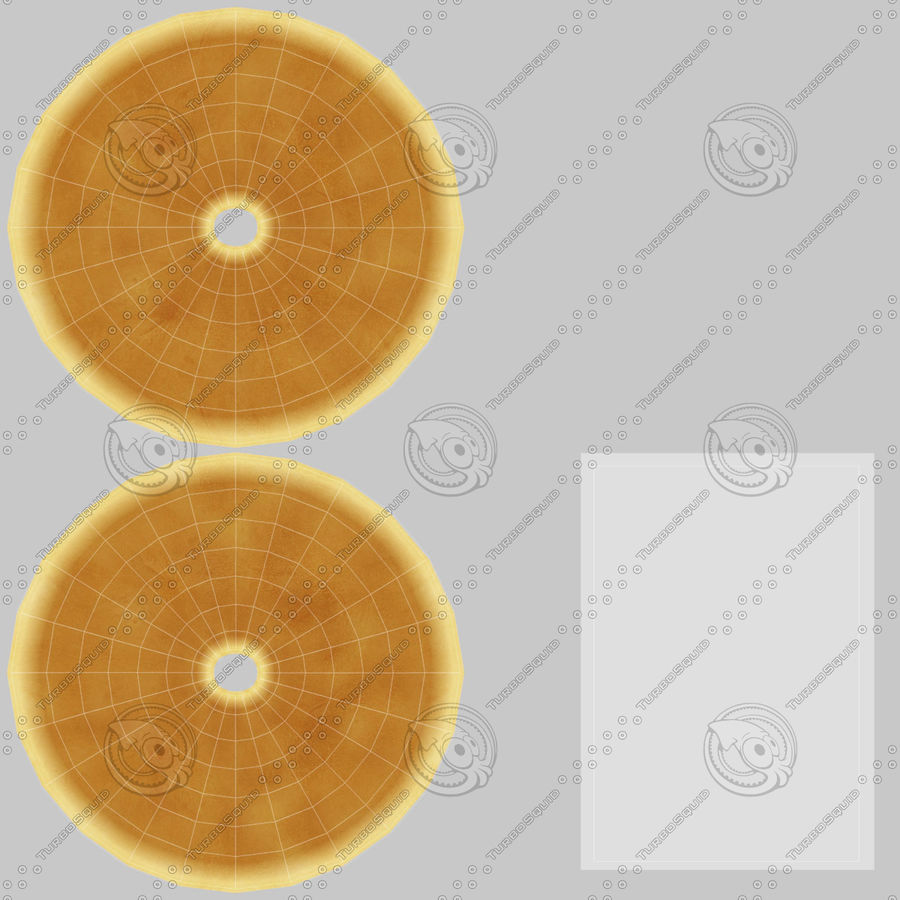 Donut Sugar royalty-free 3d model - Preview no. 19