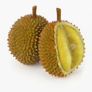 Realistic Durian Fruit 3d model