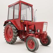 tractor  t25 3d model