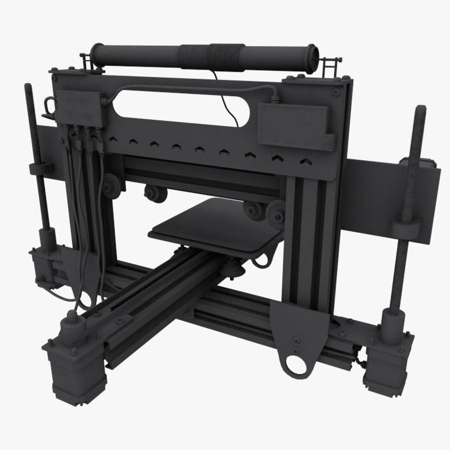 3 boyutlu yazıcı royalty-free 3d model - Preview no. 13