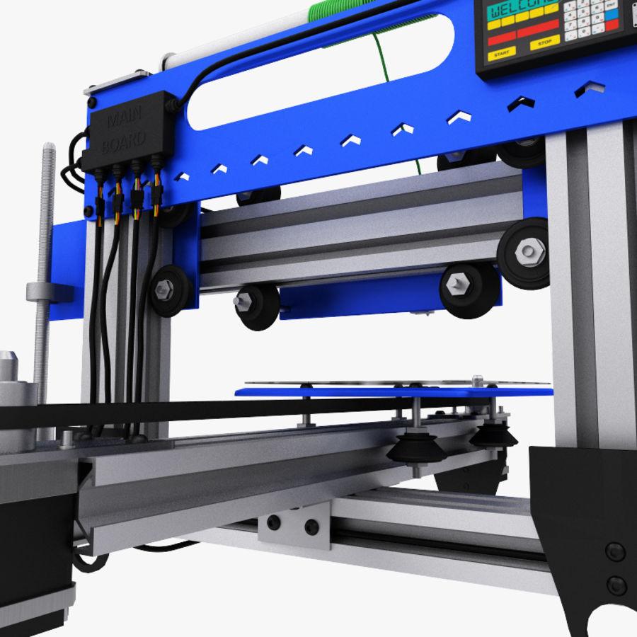 drukarka 3d royalty-free 3d model - Preview no. 11
