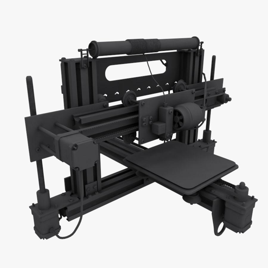 drukarka 3d royalty-free 3d model - Preview no. 12
