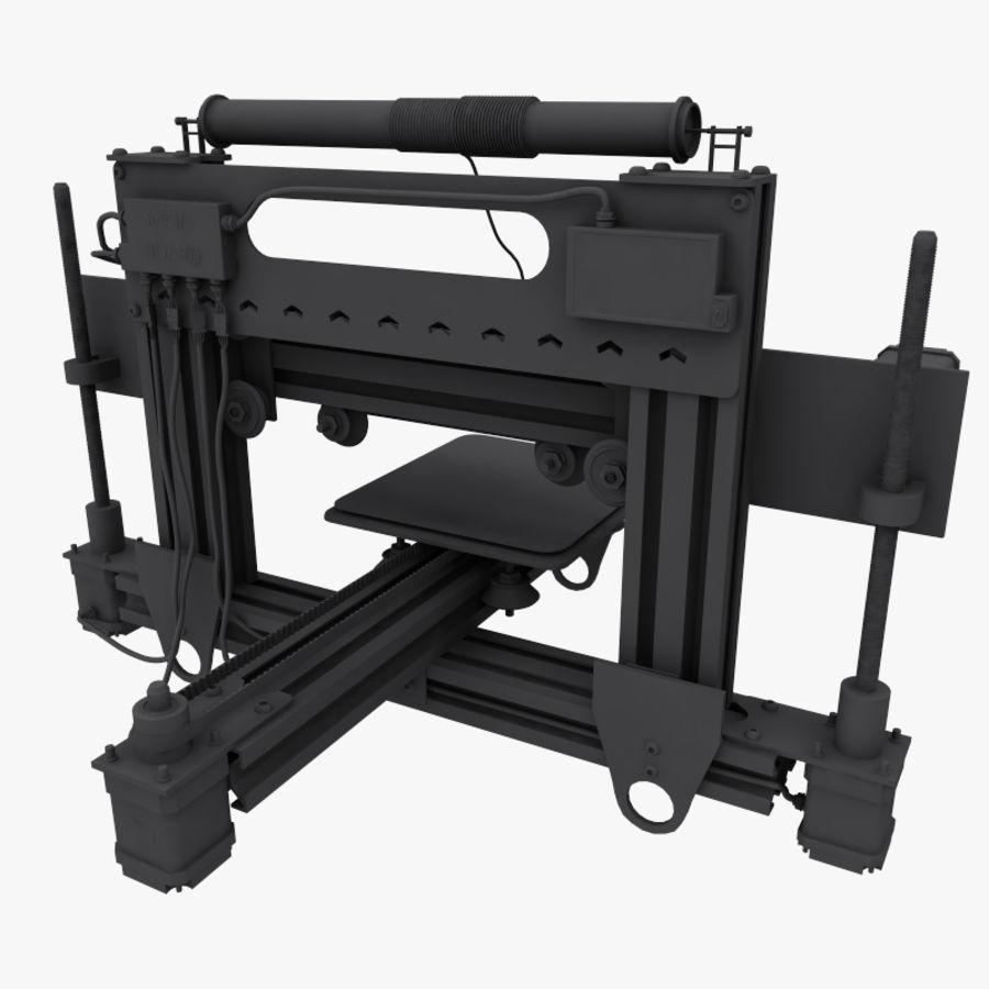 drukarka 3d royalty-free 3d model - Preview no. 13