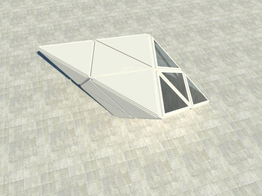 三角立方体 royalty-free 3d model - Preview no. 4