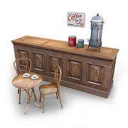Cafe Bundle 3 3d model