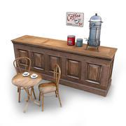 Cafe-bundel 3 3d model