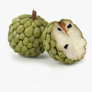 Realistic Anona Fruit 3d model