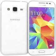 Samsung Galaxy Core Prime White modelo 3d