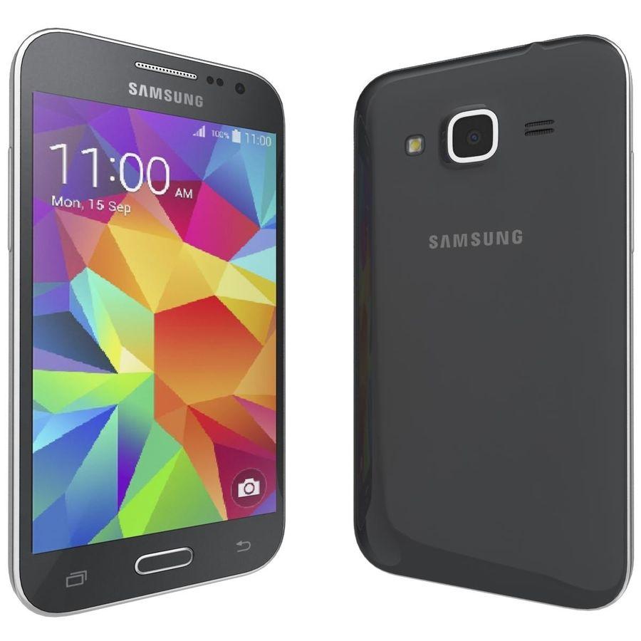 三星Galaxy Core Prime BlacK royalty-free 3d model - Preview no. 3