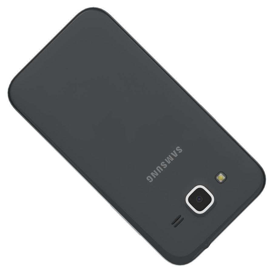 三星Galaxy Core Prime BlacK royalty-free 3d model - Preview no. 20
