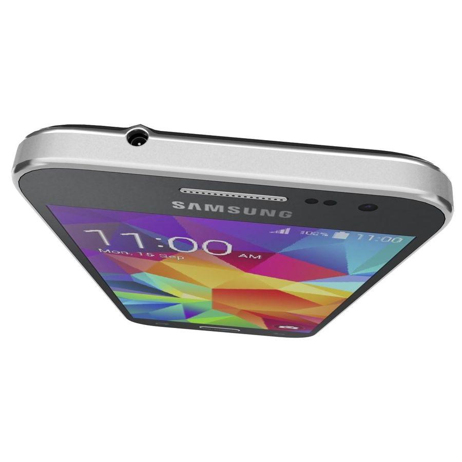 三星Galaxy Core Prime BlacK royalty-free 3d model - Preview no. 11