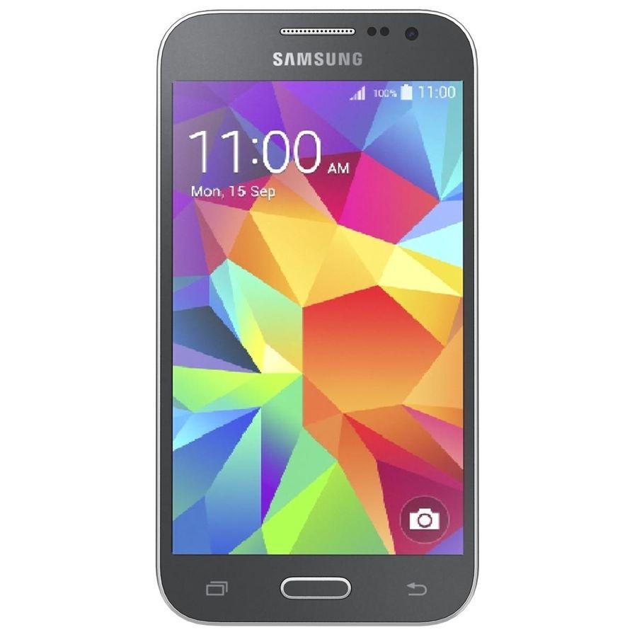 三星Galaxy Core Prime BlacK royalty-free 3d model - Preview no. 6