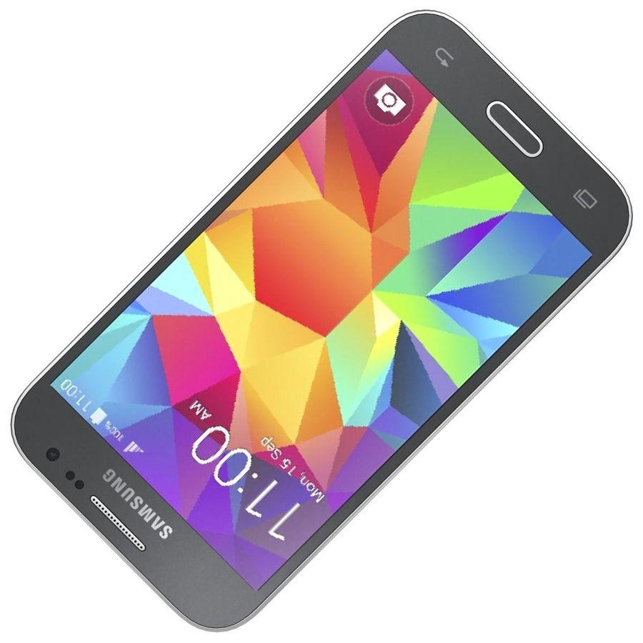 三星Galaxy Core Prime BlacK royalty-free 3d model - Preview no. 17