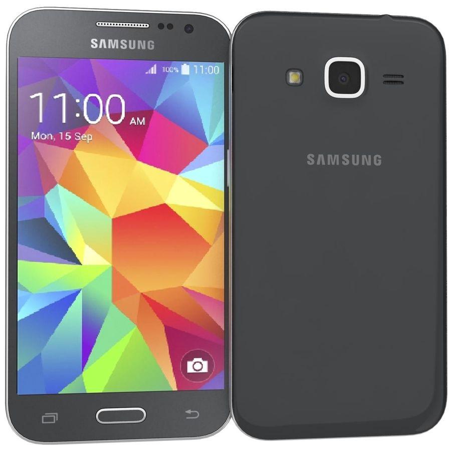三星Galaxy Core Prime BlacK royalty-free 3d model - Preview no. 2