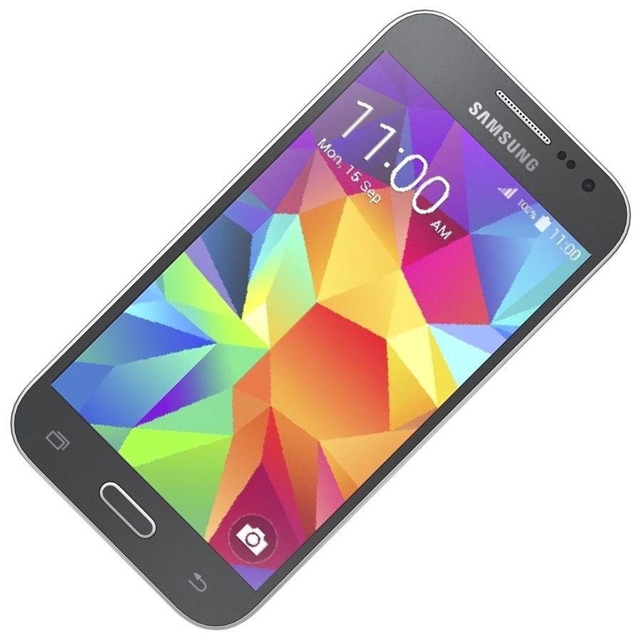 三星Galaxy Core Prime BlacK royalty-free 3d model - Preview no. 15