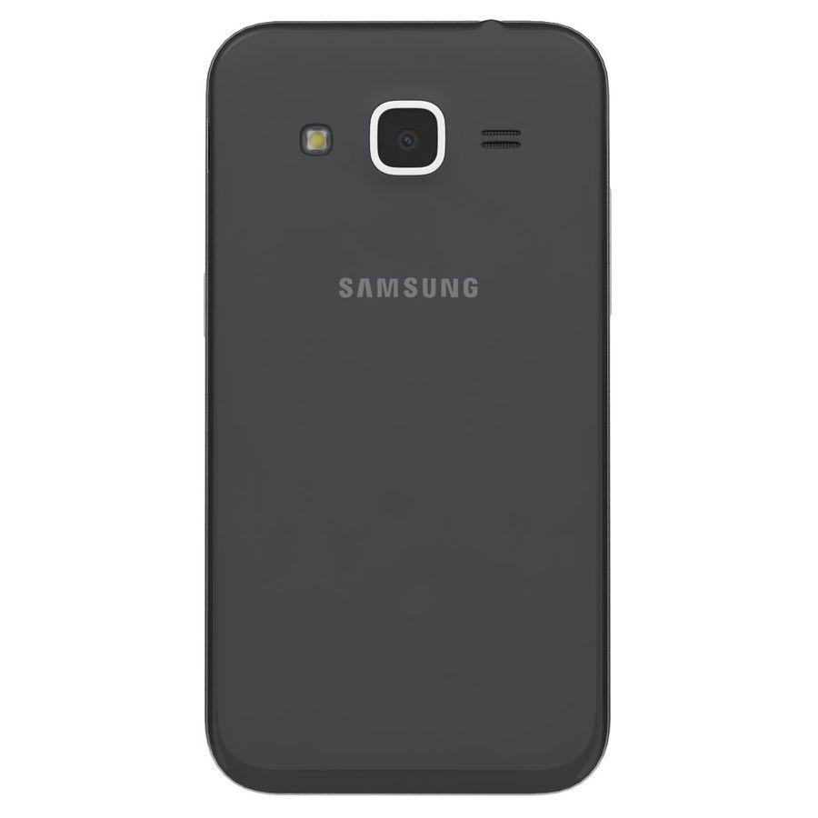 三星Galaxy Core Prime BlacK royalty-free 3d model - Preview no. 7