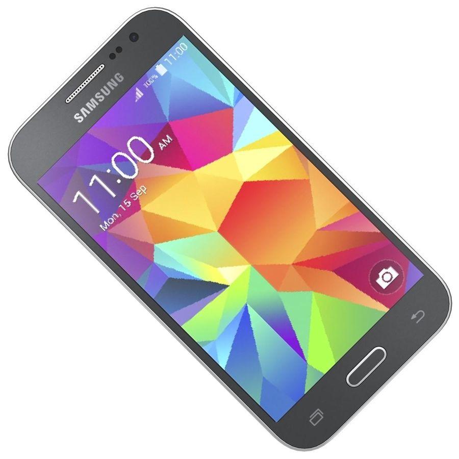三星Galaxy Core Prime BlacK royalty-free 3d model - Preview no. 18