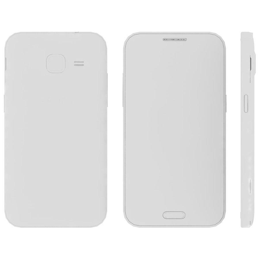 三星Galaxy Core Prime BlacK royalty-free 3d model - Preview no. 24