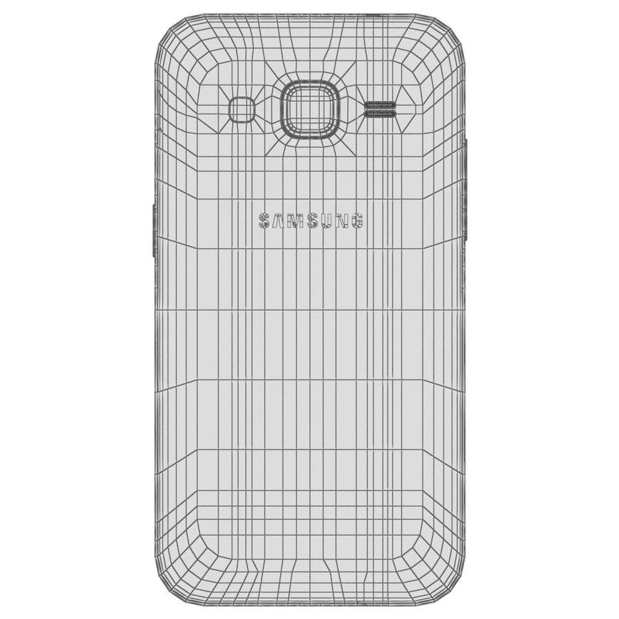 三星Galaxy Core Prime BlacK royalty-free 3d model - Preview no. 28