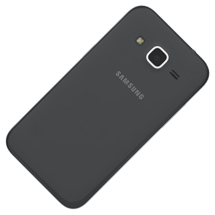 三星Galaxy Core Prime BlacK royalty-free 3d model - Preview no. 19