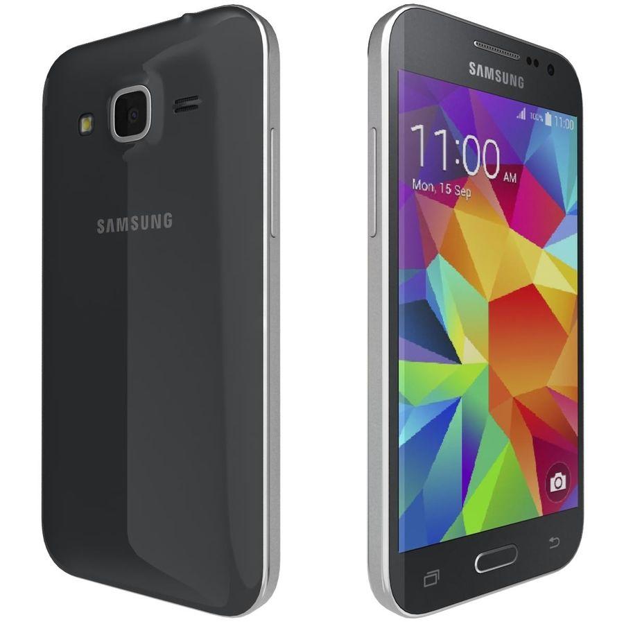 三星Galaxy Core Prime BlacK royalty-free 3d model - Preview no. 5