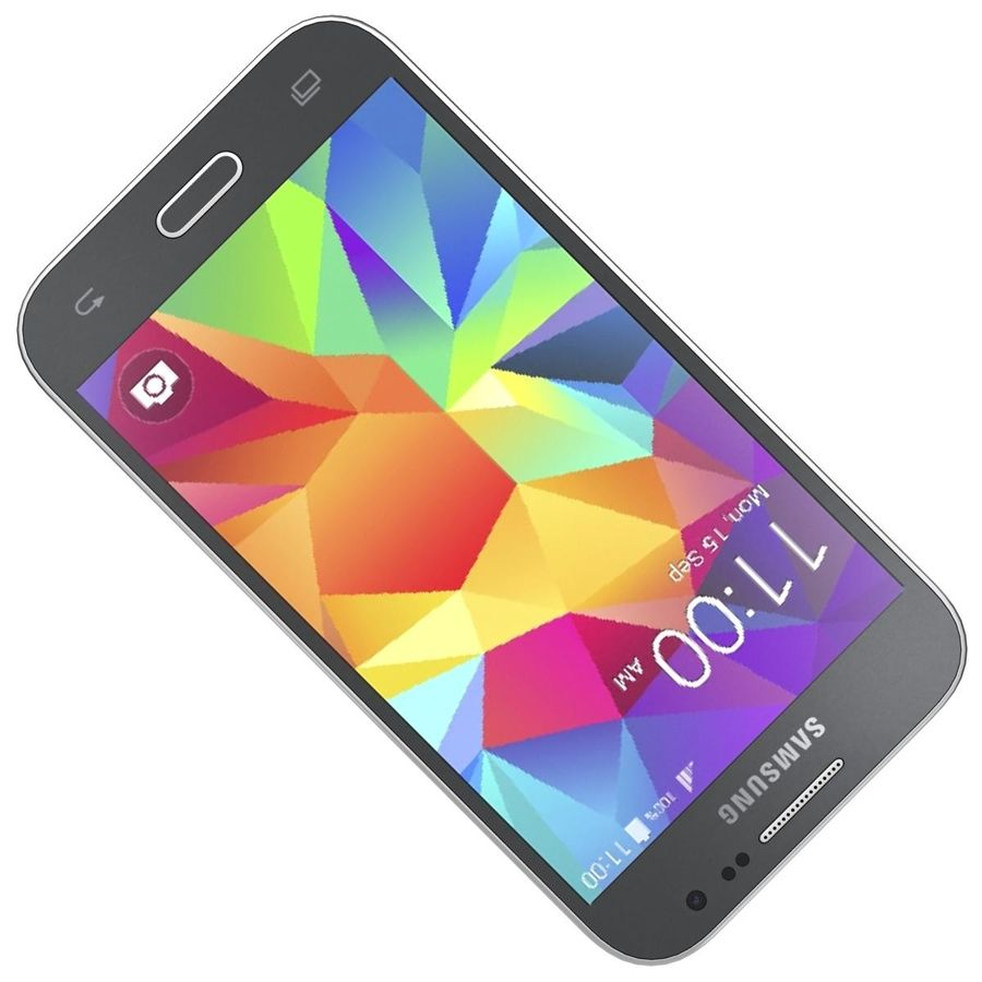 三星Galaxy Core Prime BlacK royalty-free 3d model - Preview no. 16