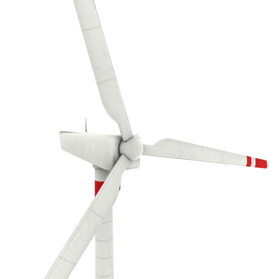 Wind Generator royalty-free 3d model - Preview no. 3