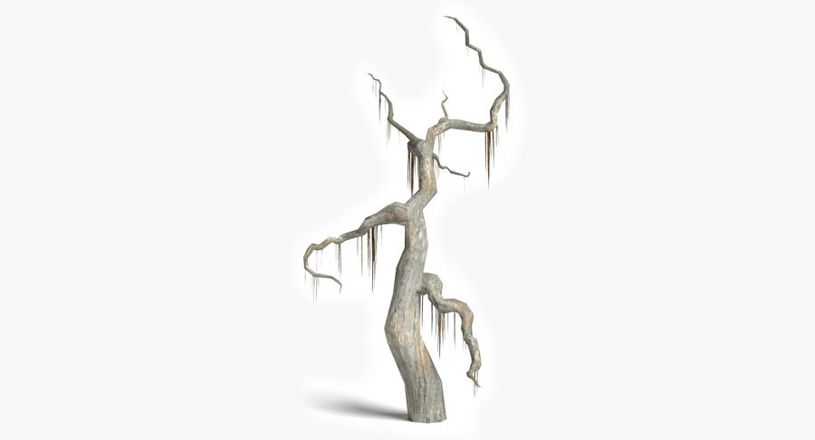 Dead Trees and Plants Collection royalty-free 3d model - Preview no. 33