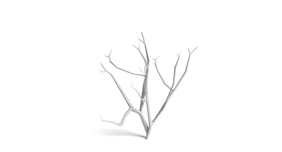 Dead Trees and Plants Collection royalty-free 3d model - Preview no. 15