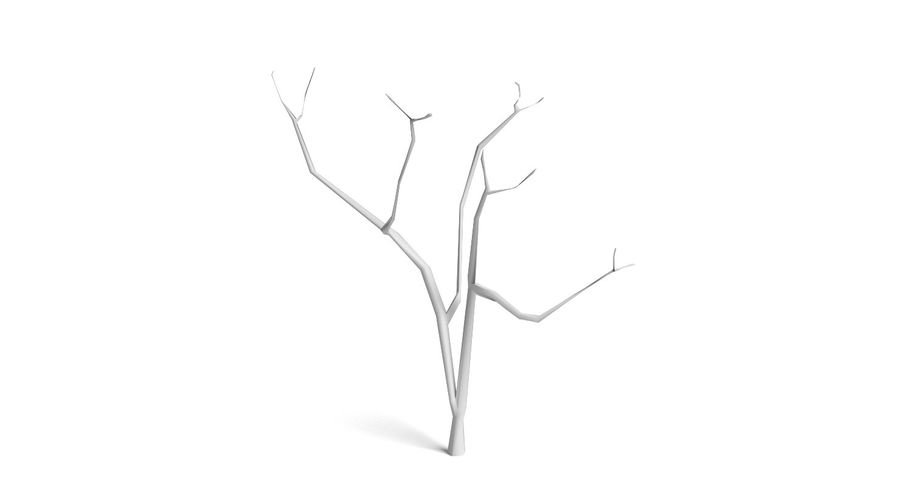 Dead Trees and Plants Collection royalty-free 3d model - Preview no. 19