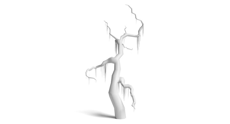 Dead Trees and Plants Collection royalty-free 3d model - Preview no. 35