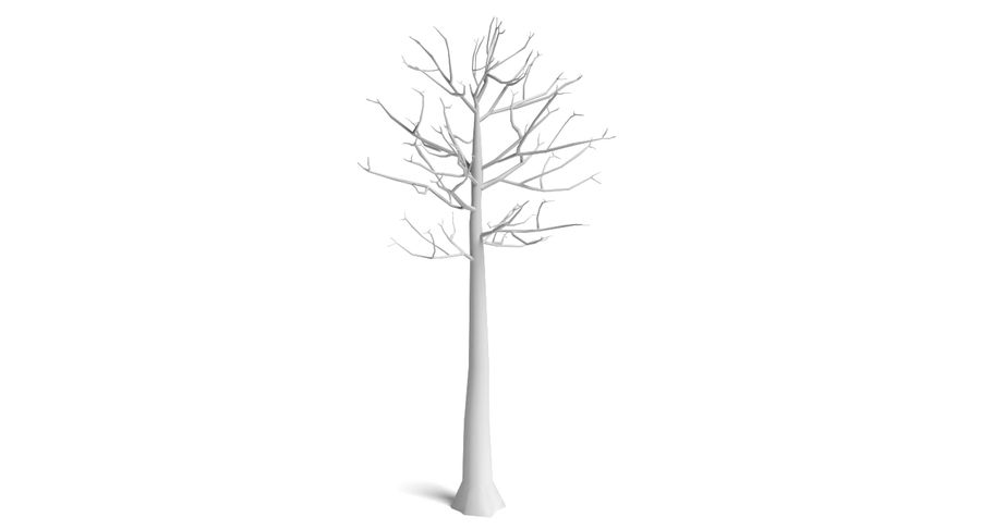 Dead Trees and Plants Collection royalty-free 3d model - Preview no. 40