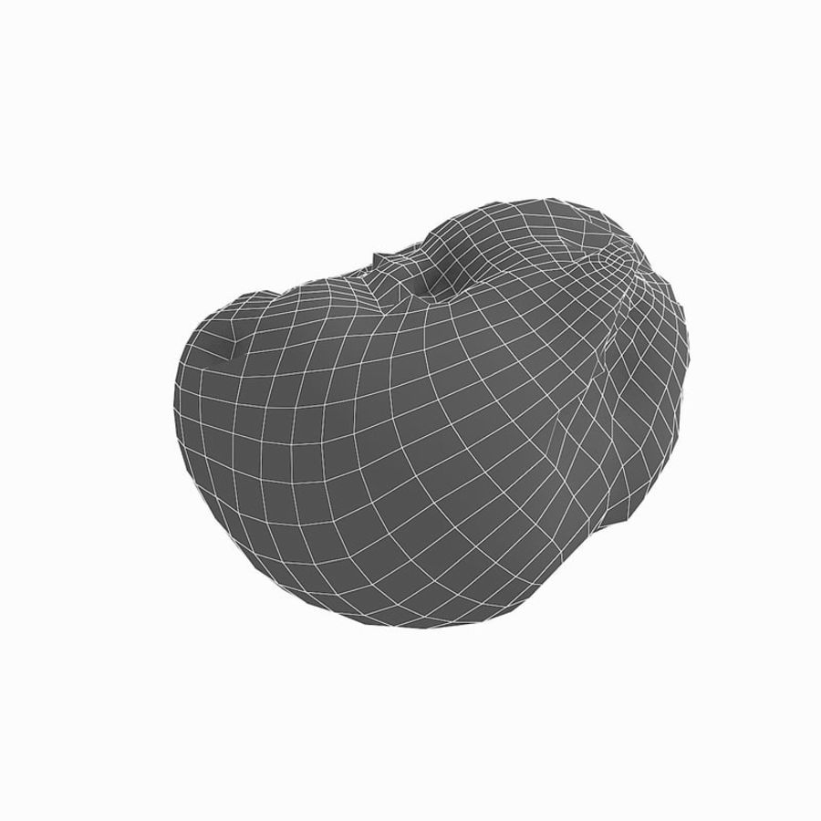 Rotte rotte Apple royalty-free 3d model - Preview no. 41