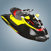 Personal watercraft sea-doo RXT260 3d model