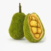 Realistic Jackfruit 3d model