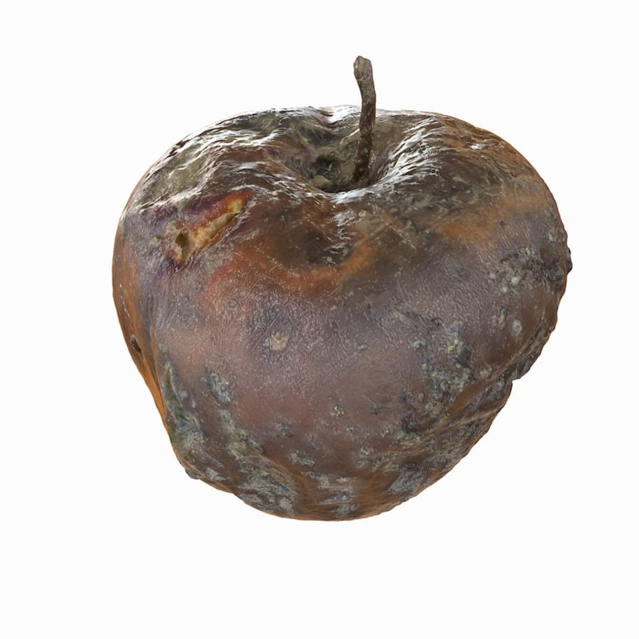 Rotte Rotte Apple 03 royalty-free 3d model - Preview no. 34