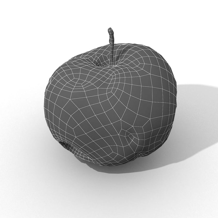 Rotte Rotte Apple 03 royalty-free 3d model - Preview no. 48