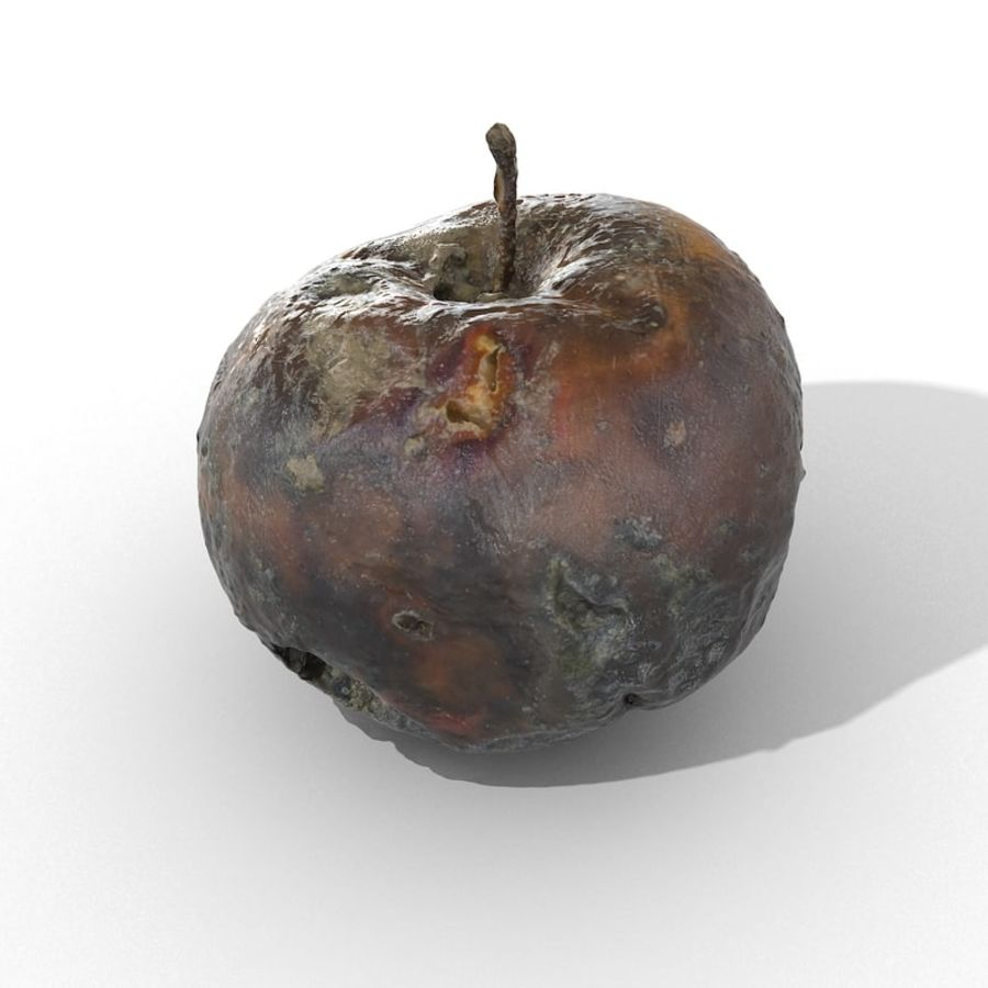 Rotte Rotte Apple 03 royalty-free 3d model - Preview no. 40
